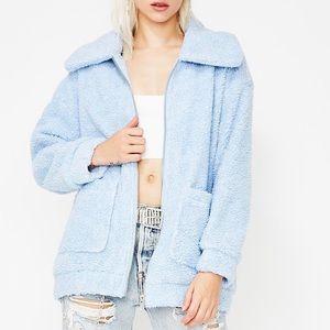 arctic foxx fuzzy jacket — dolls kill